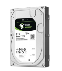 "SEAGATE EXOS ENTERPRISE 512E INTERNAL 3.5"" SATA DRIVE, 8TB, 6GB/S, 7200RPM ST8000NM000A"