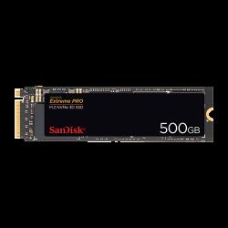 SanDisk, SSD, Extreme PRO, 500GB, M.2 2280, NVMe 3D, Seq.  SDSSDXPM2-500G-G25