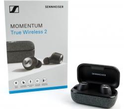 Sennheiser Momentum True Wireless 2 Bluetooth in-Ear Headphones 508674, Active Noise Cancel, Smart Pause, Touch Control, 28Hour Battery