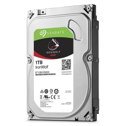 Seagate Ironwolf 1tb Nas 3.5in 6gb/s Sata 64mb St1000vn002
