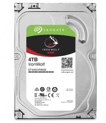 Seagate Ironwolf 4tb Nas 3.5in 6gb/s Sata 64mb St4000vn008
