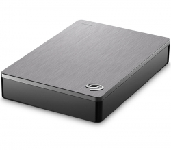 "Seagate Backup Plus Portable 2.5"" 5TB External Hard Drive USB 3.0 Silver STDR5000301"