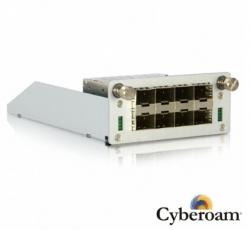 Cyberoam 8 X Gbe Fiber Ports Module Addon Cr200ing-xp/ Cr300ing-xp Swx-01g-08f