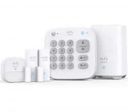 Eufy Security 5-in-1 Home Alarm 5-Pieces Kit T8990C21, Easy Setup, Instant Alerts