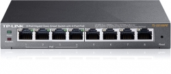 Tp-link Tl-sg108pe, 8-port Gigabit Easy Smart Switch With 4-ports Poe Tl-sg108pe