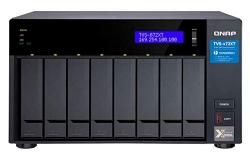 Qnap Tvs-872Xt-I5-16G 8 Bay Nas(No Disk) I5-8400T 16Gb 10Gbe(1) Gbe(2) T3(2)Twr 2Yr Tvs-872Xt-I5-16G