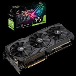 Asus Nvidia Rog-Strix-Rtx2060-A6G-Gaming Geforce Rtx 2060 Advanced Edition 6Gb Gddr6 Video Card