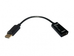 VOLANS Passive Displayport Dp To Hdmi Male To Female Converter (v1.2) With 4k Support Vl-pdphm