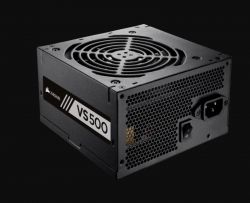 Corsair VS500 ATX PSU: 500W VS Series 80 PLUS Certified 120mm Fan (VS500)