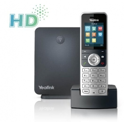 Yealink W53P - Wireless Dect Solution Including W60B Base Station And 1 W53H Handset W53P