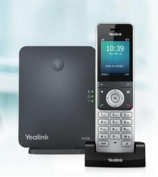 Yealink W60P - Wireless Dect Solution Including W60B Base Station And 1 X W56H Handset W60P