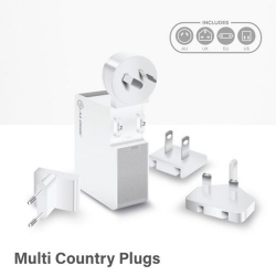 Alogic Usb-C Wall Charger 60W - White (Wcc60Wh)