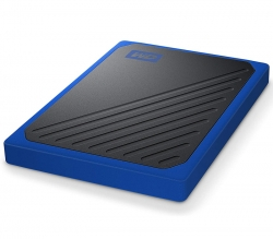 Western Digital WD My Passport Go 500GB Portable SSD USB3.0 400MB/s WDBMCG5000ABT-WESN, Tough SSD, Built To Travel