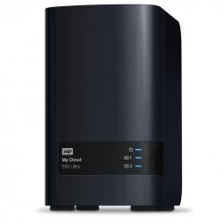 Western Digital My Cloud 12tb Ex2 Ultra 2-bay Nas - 1.3ghz Dual-core Cpu, 1gb Ddr3, Raid,