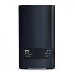 Western Digital My Cloud 16tb Ex2 Ultra 2-bay Nas - 1.3ghz Dual-core Cpu, 1gb Ddr3, Raid, Backup