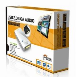 Generic Usb 2.0 Full Hd 1080p Display Adapter Dvi/ Hdmi Without Audio (1920x1080) Usbvgaws-uga17d1