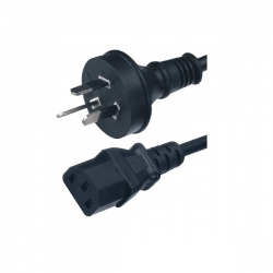 Wicked Wired 1.8m Australian 3pin Electrical Mains To Standard Female Iec Power Cable Ww-p-pc180cm