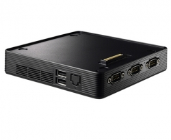 Shuttle Nc01u Vga Docking Box/ Amd Litho Vga Card/ 4k Playback/ 88w Adapter Xcb01