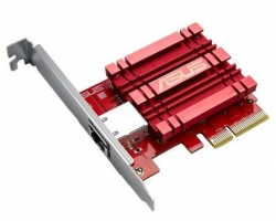 Asus Xg-c100c 10g Network Adapter Pci-e X4 Card With Single Rj-45 Port And Built-in Qos For Use