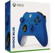 Xbox Wireless Controller Shock Blue Bluetooth QAU-00003 For Xbox, Windows 10, Android