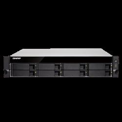 QNAP TS-883XU-RP-E2124-8G 8-Bay NAS, Intel® Xeon® E-2124 quad-core 3.3 GHz processor (TS-883XU-RP-E2124-8G)