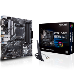 ASUS AMD mATX PRIME B550M-A Gaming Motherboards(WIFI) (90MB14D0-M0UAY0)