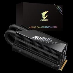 GIGABYTE 2TB AORUS GEN4 7000s NVMe M.2 PCIe4 SSD, R 7000MB/s W 5500MB/s 3D NAND FLASH 5YR GP-AG70S2TB-P