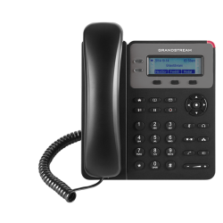 Grandstream GXP1615 1 Line IP Phone, 1 SIP Account, 132x48 Colour LCD Screen, HD Audio, Powerable Via PoE (GXP1615)