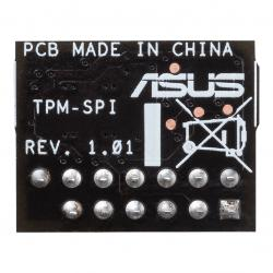 ASUS TPM-SPI TPM Chip, Improve Your Computer's Security. 14-1 pin and SPI interface, Nuvoton NPCT750, Compliant With TCG Specification Family 2.0