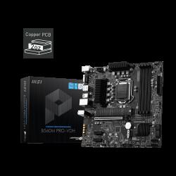 MSI B560M PRO-VDH Intel mATX Motherboard, 4x DDR4 1x PCI-E x16, 2x PCI-E X1, 6X SATAIII, 2X M.2, 4X USB 3.2, 2X USB 2.0 (B560M PRO-VDH)