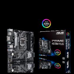 ASUS PRIME H570M-PLUS/CSM Intel H570 (LGA 1200) M-ATX Motherboard PCIe 4.0, 8 Power Stages, Display Port, HDMI, SATA 6, 1Gb Ethernet, Thunderbolt, RGB (PRIME H570M-PLUS/CSM)