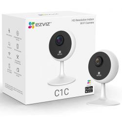 EZVIZ C1C IP Camera, HD Resolution Indoor Wi-Fi Camera, Infrared Night Vision, Two-Way Talk,