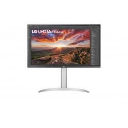 LG 27' IPS 5ms 4K UHD HDR400 FreeSync 3-Side Borderless Monitor w/ArcLine HAS - HDMI,DP, USB Type-C, Speaker, 27UP850-W