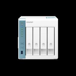QNAP TS-431K NAS, 4BAY (NO DISK), AL-214 QUAD CORE, 1GB, USB 3.2(3), GbE(2), TWR, 2YR