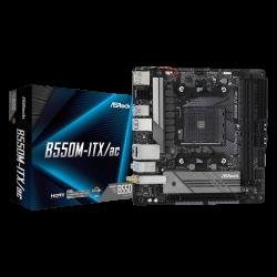 ASRock B550M-ITX/AC MB B550 Mini-ITX: AM4 Socket For 3rd Gen AMD Ryzen Processors