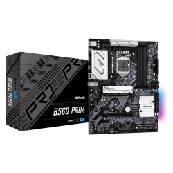 Asrock B560 PRO4 Motherboard Supports 10th Gen Intel Core Processors and 11th Gen Intel Core Processors