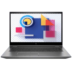 HP ZBOOK FURY 17 G7 Mobile Workstation I7-10850H 16GB, 1TB SSD+2TB HDD, T2000-4GB, 17.3