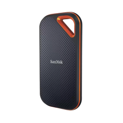 SanDisk Extreme Pro Portable SSD, E81 2TB, USB 3.2 Gen 2x2, Type C & Type A compatible, SDSSDE81-2T00-G25