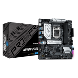 Asrock H570M PRO4 Motherboard Supports 10th Gen Intel Core Processors and 11th Gen Intel Core Processors
