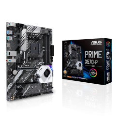 Asus PRIME X570-P/CSM Motherboard X570 ATX: AM4 Socket For AMD 2nd/3rd Gen. Selected Ryzen Processors 4x DDR4,