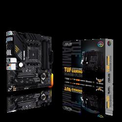 ASUS AMD B550 (Ryzen AM4) micro ATX gaming motherboard with PCIe 4.0, dual M.2, 10 DrMOS power stages, 2.5 Gb Ethernet, HDMI, DisplayPort (TUF-GAMING-B550M-PLUS)