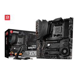 MSI MEG X570 UNIFY TRIPLE LIGHTNING M.2 WITH SHIELD FROZR AUDIO BOOST HD GAME BOOST