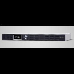 CyberPower Smart App Office Rackmount Series LCD 1000VA/ 600W 1U Line Interactive UPS(OR1000ERM1U)