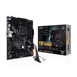Asus AMD B550 (Ryzen AM4) ATX gaming motherboard with PCIe 4.0, dual M.2, 10 DrMOS power stages, Intel Wi-Fi 6, 2.5 Gb Ethernet, HDMI, DP (TUF-GAMING-B550-PLUS-WIFI)