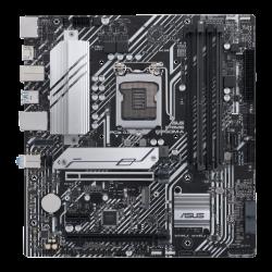 Asus PRIME-B560M-A/CSM Motherboard Intel B560 (LGA 1200), PCIe 4.0,two M.2 slots, 8 power stages, Intel 1 Gb Ethernet, DisplayPort, dual HDMI