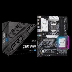 Asrock Z590 PRO4 Motherboard Supports 10th Gen Intel Core Processors and 11th Gen Intel Core Processors