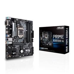 ASUS Intel LGA-1151 mATX motherboard with LED lighting (PRIME-B365M-A)