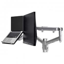 Atdec Dual monitor & notebook combo - 618mm dynamic arms on 135mm post (AWMS-2-ND13F-S)