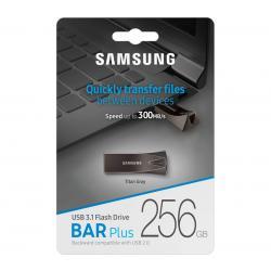 Samsung Bar Plus 256GB USB 3.1 Flash Drive 300MB/s Titan Gray MUF-256BE4
