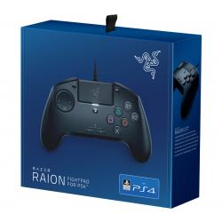 Razer Raion Fightpad for PS4/ PS5, RZ06-02940100, 8 Way D-Pad, Mechanical Switch Front Buttons, 3.5mm Audio